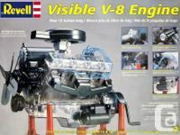 Revell Visible V-8 Engine 1:4 Scale (Brand new, sealed
