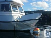We are looking for an aluminum boat that hit our boat