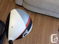 Selling a Taylor Made R1 driver.  Stock shaft Stiff