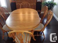 Richardson Brothers Dining Room Suite. Built in USA -