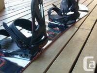 Price reduced! Selling my Ride Control 152cm snowboard