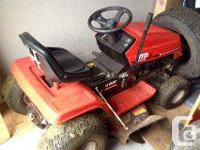 I am Selling a 12.5 hp 38' cut ride-on this machine