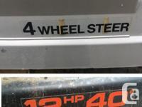 """Ride-on mowers """"Craftsman 4-Wheel Steer"""" RESTORATION"""