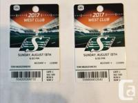 FOR SALE A PAIR OF RIDER CLUB SEATING TICKETS FOR THE