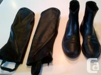 I have a pair of Tuff Riders riding boots (size 7.5)