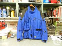 1) Technic Kevlar size XL 3/4 style water proof ,