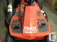 Riding mower with 30 inch bed 11HP with new carb. in