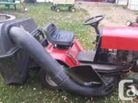 "Excellent condition 12hp 38"" cut riding lawn mower for"
