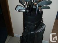 2 sets of Used Right Hand Males's Golf Iron Clubs and a