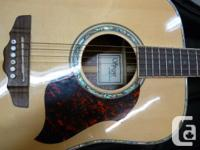 Right hand SPEYER DG-50 acoustic guitar with padded