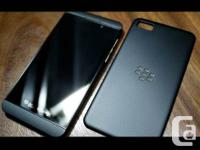 I'm selling my black BlackBerry Z10 it's less compared