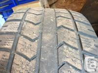 """18"""" ford rims, off a 2013 (4x) Tires have about 20-25%"""