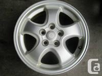 FOR SALE 4 OEM ALLOY RIMS FITS MERCEDES BENZ AMG 2001