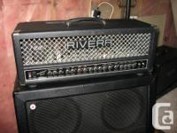 Up for sale is a very functional 55w all tube head with
