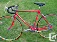 1977 Raleigh Record road bike. Medium 19-inch