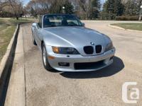 Make BMW Model Z3 Year 1997 Colour Silver kms 132000