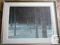 Robert Bateman Signed, Limited Edition Lithograph