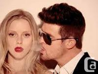 Robin Thicke - 2 Floor Tickets  Rogers Arena,