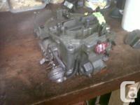 Rochester 4 barrel Quadrajet Carburator Good condition,