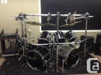 Tama/ Pearl - 8pc drum package, includes every little