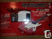 For ps3, never been used, new in box, wireless guitar