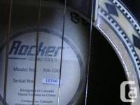 Rocker 6 string accoustic guitar model.. RA-100 Great