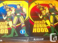 Rocket Robin Hood DVD sets Total Vol 1: $20.