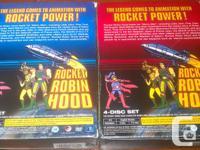 Rocket Robin Hood DVD sets Complete Vol 1: $20 Complete
