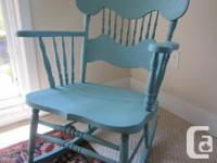 Antique rocking chair, refinished in Annie Sloan