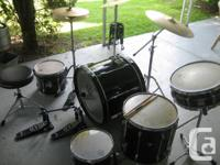 Offering a TAMA Rockstar Drumset with Sabian Cymbals