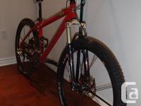 Rocky Mountain Vertex 10 Mountain Bike - Size Small