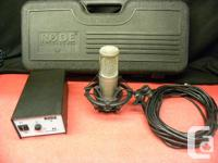 RODE K2 microphone ($800 alone) in case with power