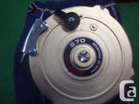 I have aIslander LX 4.8 Reel in great shape $550.00. 2-