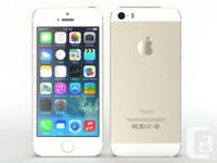 Selling a LNIB Rogers/Fido Locked IPhone 5s Gold Color