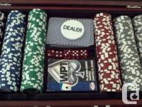 I have a really nice set of Rogers poker chips. Not