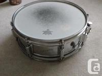 Rogers Power Tone Chrome on Brass Snare, Fullerton