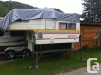 I have an 8' protection camper for sale. The camper