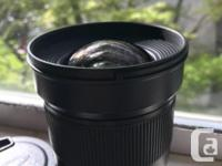 Selling my gently used Rokinon 24mm wide angle lens.