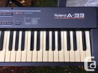 Great driver/master keyboard. Haven't used it for a