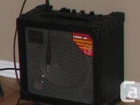I'm offering my Roland Dice 30 guitar amp.