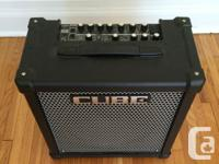 The 80 watts Roland CUBE-80GX is barely used and in