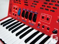 Roland FR-1x, advanced digital V Accordion, red, with