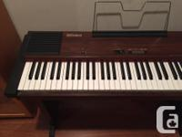 Awesome piano with full size weighted keys, sustain