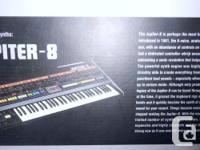 Roland JP-08, Jupiter 08 Sound Module. Great shape