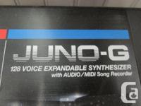 MONEYMAXX HAS A ROLAND JUNO G KEYBOARD FOR SALE. COMES