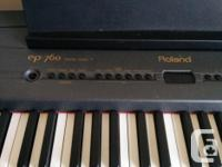 I have Roland EP 760 digital piano for sale. It is in