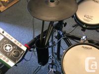 Roland V-Drum set with TD-9 sound module - Hi Hat, used for sale  British Columbia