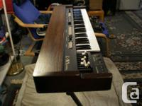 The vk7 is basically a Hammond organ clone. It has the for sale  Ontario