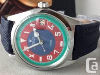 Very unique look Rolex California Dial men's Tudor