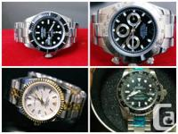 have following watch.  ROLEX SUBMARINER DAYTONA GMT 2, used for sale  Ontario
